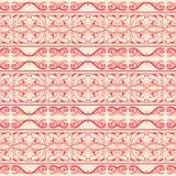 Vector naadloze patroonachtergrond met elegante lijnen Royalty-vrije Stock Fotografie