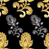 Vector naadloze textuur Royalty-vrije Stock Foto