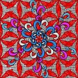 Vector naadloze textuur Stock Afbeelding