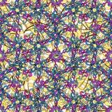 Vector naadloze textuur Stock Afbeeldingen