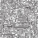 Vector naadloze textuur. Aanslutingen en contacten. Royalty-vrije Stock Afbeelding