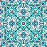 Vector naadloze textuur Mooi gekleurd patroon voor ontwerp en manier met decoratieve elementen Royalty-vrije Stock Fotografie