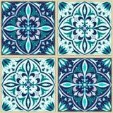 Vector naadloze textuur Mooi gekleurd patroon voor ontwerp en manier met decoratieve elementen Royalty-vrije Stock Foto's