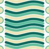 Vector naadloze textuur van lijn en cirkelpatroon vector illustratie
