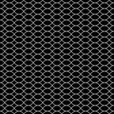 Vector naadloze textuur, zwart & wit rooster Royalty-vrije Stock Afbeeldingen