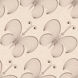 Vector naadloze vlinderachtergrond Royalty-vrije Stock Fotografie