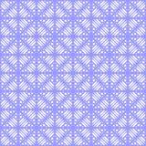 Vector nahtlose farbige organische Dreieck-mit Blumenlinien sechseckiges geometrisches Muster lizenzfreie abbildung
