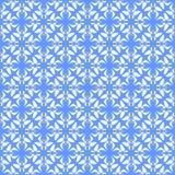 Vector nahtlose farbige organische Dreieck-mit Blumenlinien sechseckiges geometrisches Muster vektor abbildung