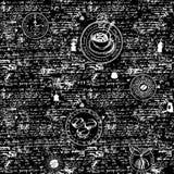 Vector nahtlosen Hintergrund auf Tee- und Kaffeethema Vektor Abbildung