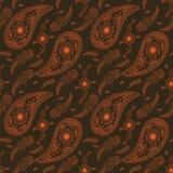 Vector nahtlosen Mustermit blumenhintergrund in der arabischen Art Arabeskenmuster Östliche ethnische Verzierung Elegante Beschaf Stockfoto