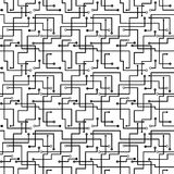 Vector nahtloses abstraktes Muster - Leiterplatte s Stockfotos