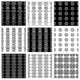 Vector nahtloses Muster Lizenzfreie Stockfotografie
