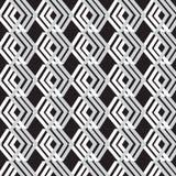 Vector nahtloses Muster abstrakter Hintergrund geometrisch Lizenzfreies Stockfoto