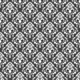 Vector nahtloses Muster abstrakter Hintergrund Wiederholen des geometrischen Hintergrundes Schwarzweiss-Farben Tapete für Einladu Stockbilder