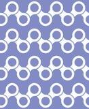 Vector nahtloses Muster abstrakter Hintergrund Wiederholen von geometrischen Fliesen mit sechseckigen Elementen Stockfotos