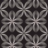 Vector nahtloses Muster Abstrakter stilvoller Hintergrund Lizenzfreie Stockbilder