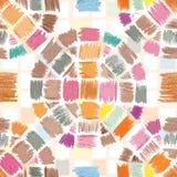 Vector nahtloses Muster Bleistiftanschläge Lizenzfreies Stockfoto