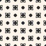 Vector nahtloses Muster, einfache geometrische Beschaffenheit mit Kreisen, Stockbilder