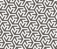 Vector nahtloses Muster Geometrische Beschaffenheit Stockbild