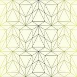 Vector nahtloses Muster Geometrischer Steigungshintergrund mit rhom Lizenzfreie Stockfotos
