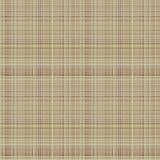 Vector nahtloses Muster Karierter Pastellhintergrund in den braunen Farben, Gewebemuster probiert Beschaffenheit des Leinenstoffe Lizenzfreies Stockbild