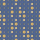 Vector nahtloses Muster Kreise, Punkt, Stellen, Tupfenbeschaffenheit stock abbildung