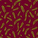 Vector nahtloses Muster Leichtes natürliches stilvolles mit Blumenbackgroun Stockfoto