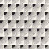 Vector nahtloses Muster Moderne stilvolle abstrakte Beschaffenheit Wiederholen von geometrischen Fliesen lizenzfreies stockbild