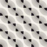 Vector nahtloses Muster Moderne stilvolle abstrakte Beschaffenheit Wiederholen von geometrischen Fliesen stockfotografie