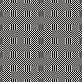 Vector nahtloses Muster Moderne stilvolle abstrakte Beschaffenheit Wiederholen von geometrischen Fliesen stockfoto