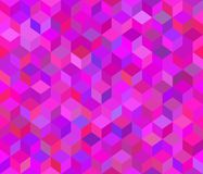 Vector nahtloses Muster Rosa Hintergrund 3d lizenzfreie abbildung