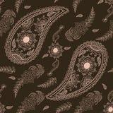 Vector nahtloses Mustermit blumenelement in der arabischen Art Arabeskenmuster Östliche ethnische Verzierung Elegante Beschaffenh Stockbilder