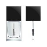 Vector nail polish bases coat. Stock Images