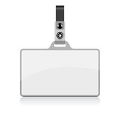 Vector Name Tag. On white background. No transparency and effects Stock Photography