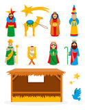 Vector Nativity Collection Royalty Free Stock Image