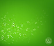 Vector nature background. Stock Image