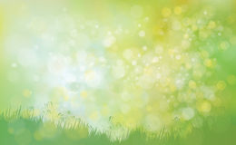 Vector  nature background. Royalty Free Stock Images