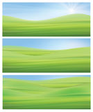 Vector  nature backgrounds. Royalty Free Stock Photo