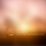 Vector Nature Blurry Background Royalty Free Stock Images