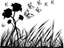 Vector nature illustration Royalty Free Stock Photo