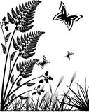 Vector nature illustration Royalty Free Stock Images