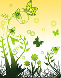 Vector nature illustration Royalty Free Stock Photos