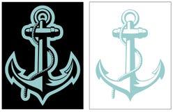 Vector Nautical Anchor Royalty Free Stock Image
