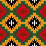 Vector navajo tribal ornament Stock Photo