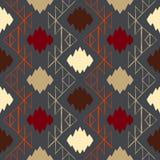 Vector navajo tribal ornament Royalty Free Stock Images