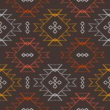 Vector navajo tribal ornament Royalty Free Stock Image