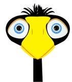 Vector negro del cuervo Imágenes de archivo libres de regalías