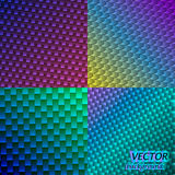 Vector neon backgrounds Stock Images