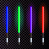 Vector Neon light 1 Royalty Free Stock Photo