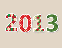 Vector new year background Stock Images